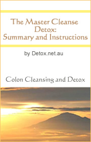Master Cleanse eBook